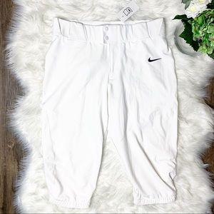 Nike Pants - ❤️SOLD❤️Nike Baseball White Men's Short Pants NWT